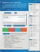 豪华盒装版TCP双门双向门禁控制器