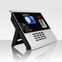 自助型语音播报彩屏指纹考勤机